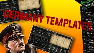 HOI4 Germany Template Guide (Hearts of iron 4 German Templates Tutorial)