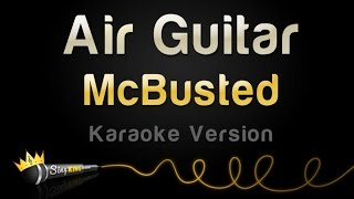 McBusted - Air Guitar (Karaoke Version)