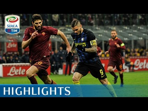 Inter - Roma - 1-3 - Highlights - Giornata 26 - Serie A TIM 2016/17