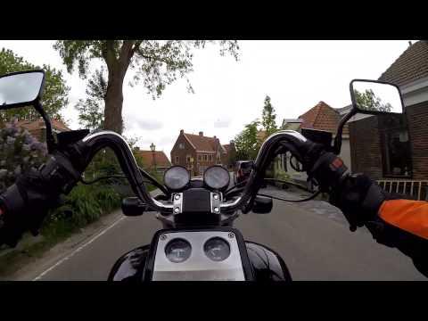 Motorrit Amsterdam westpoort naar IJmuiden
