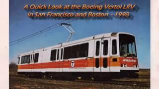 Boeing Vertol LRV - SF and Boston 1998, bonus MBTA train