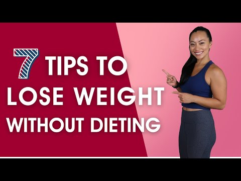 How To Lose Weight Without Dieting 7 Weight Loss Tips (SAFE & EFFECTIVE!!)