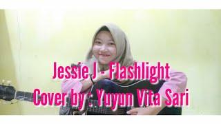 Cover lagu Jessie J - Flashlight. #akustik #coverlagu #vokalplus #jessiej #music #trending #viral