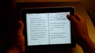 Apple iPad eBook Reader