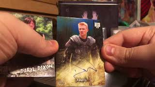 2018 Topps Walking Dead Road to Alexandria Box Break Review