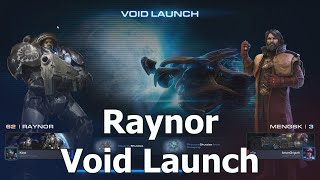 Starcraft 2 Co-Op ou Cooperativo: Terran Raynor em Void Launch