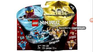 My opinion on the Lego Ninjago 2019 spinners