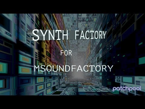 Planet Scanner – Synth Factory For MSF