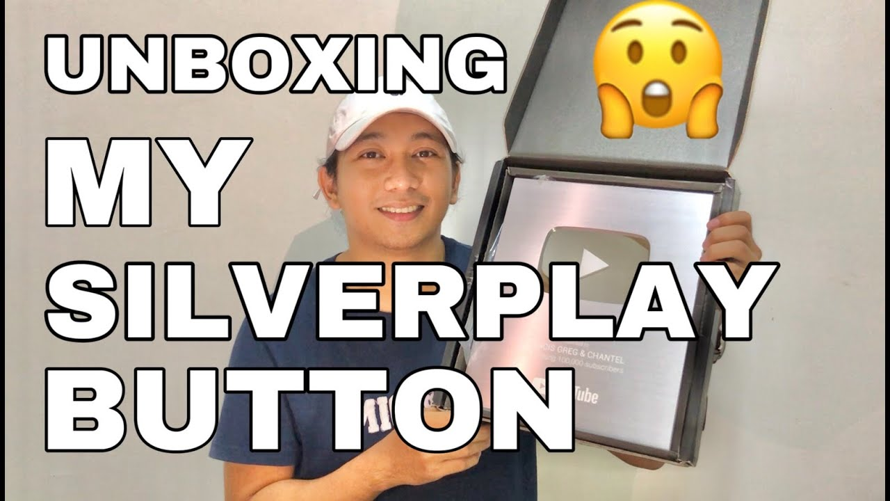 UNBOXING MY SILVERPLAY BUTTON! | francis greg