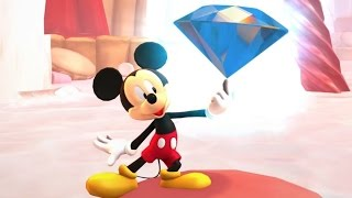 Castle of Illusion Starring Mickey Mouse - The Library - Cartoon Game for Children HD