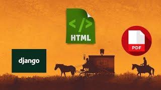 PDF con HTML en Django