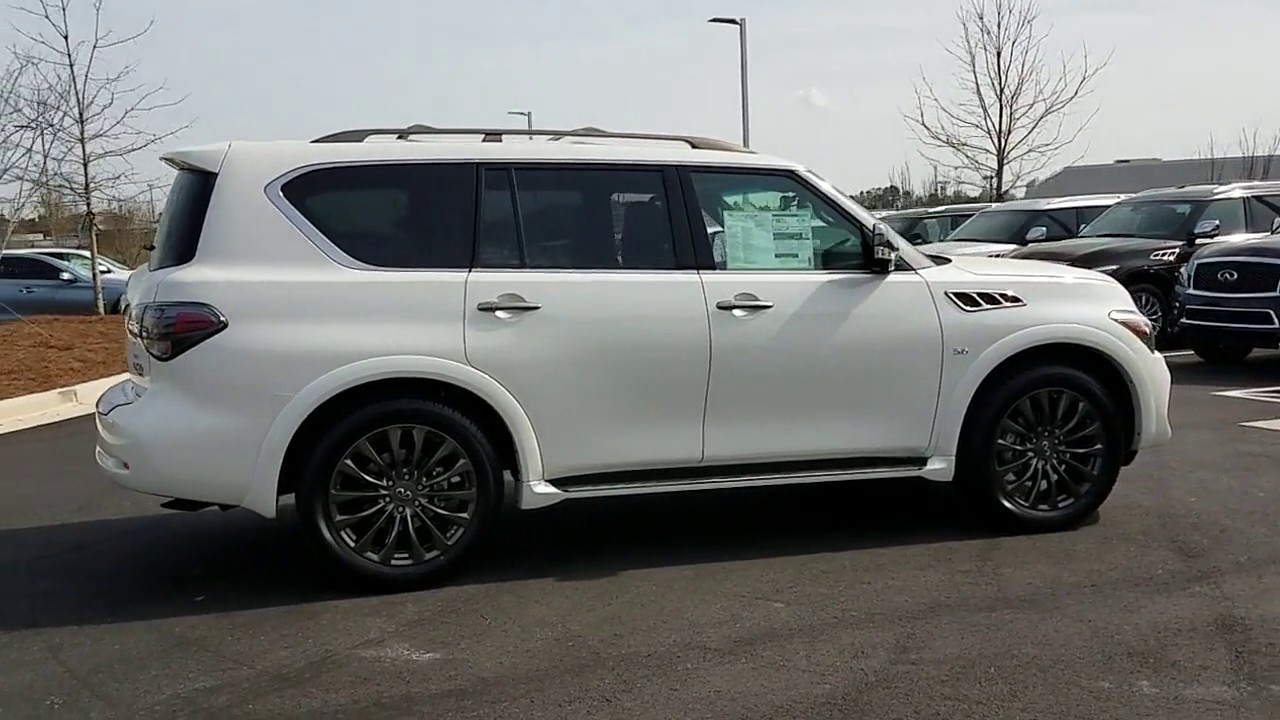 Sold New 2017 Infiniti Qx80 Limited At Nalley Infiniti
