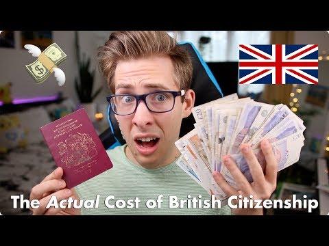The Actual Price of British Citizenship