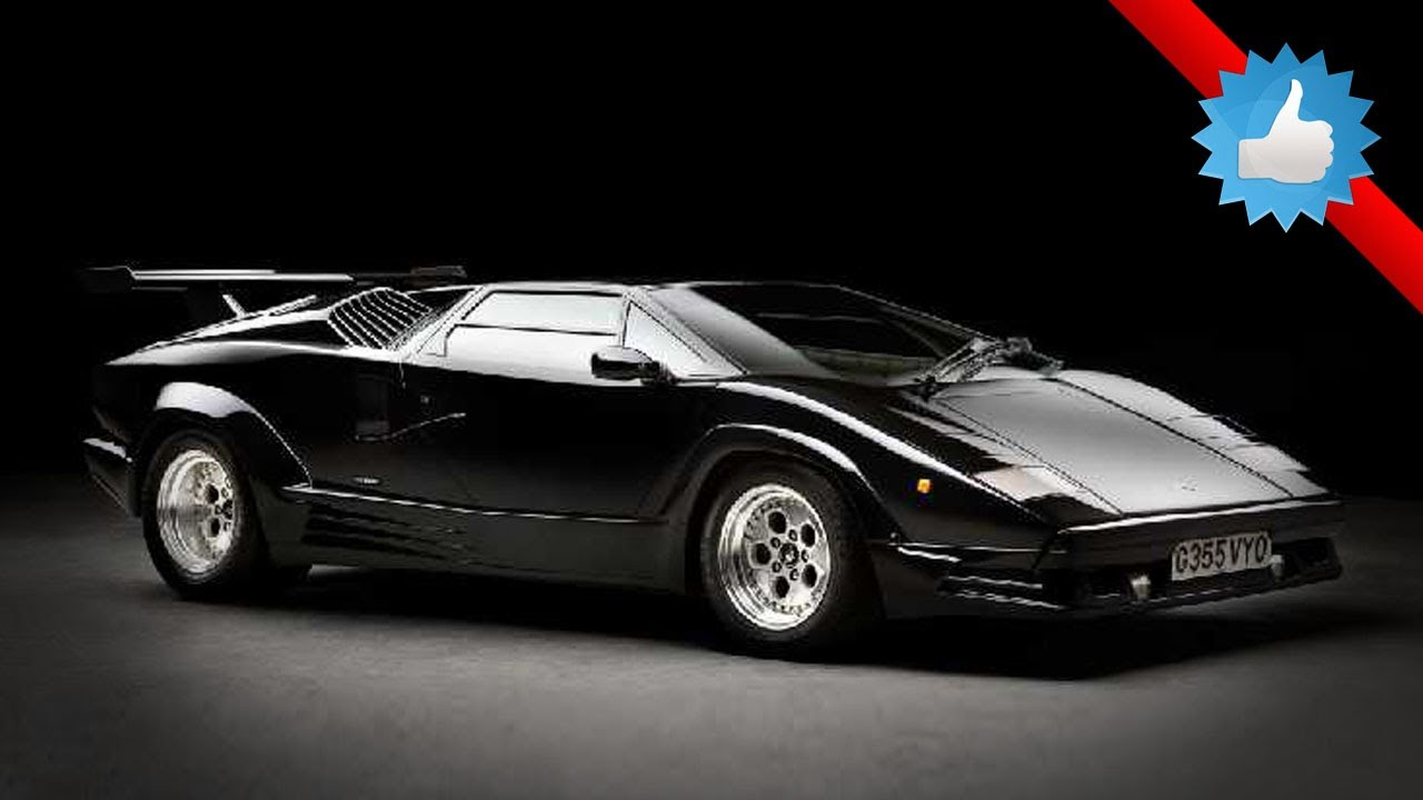 1990 Lamborghini Countach 25th Anniversary Edition Youtube