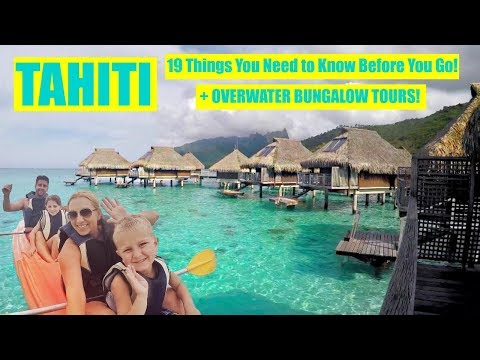 Overwater Bungalow Tour + 19 Travel Tips to Tahiti! (Bora Bo