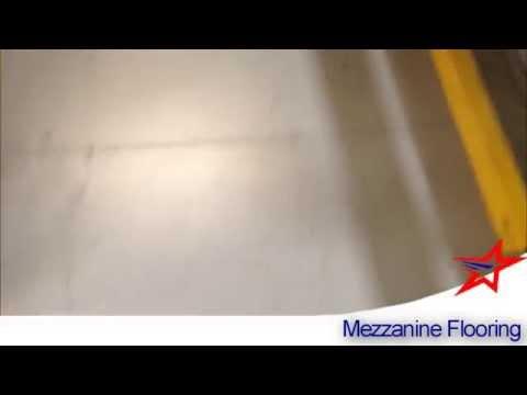 USED MEZZANINE FLOORING: Wood/B Deck, Bar Grate, Resin & Open Steel