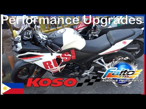 Performance Upgrades - Koso - Faito - Rusi ss250 Sigma - PJ MotoParts