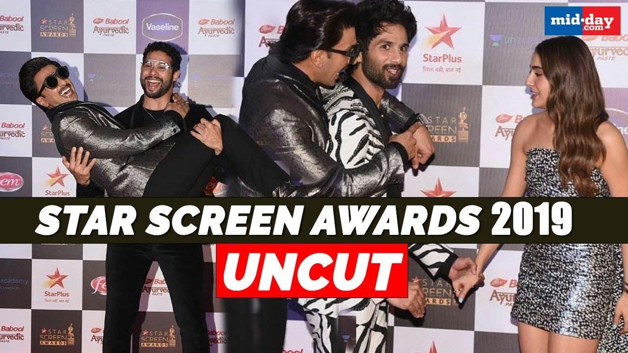 Star Screen Awards 2019: Deepika Padukone, Ranveer Singh, Sara Ali Khan attend