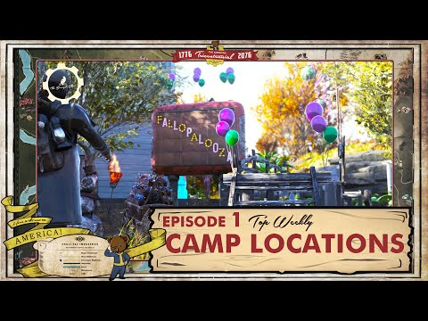 Fallout 76 - Top 5 Weekly CAMP Locations |