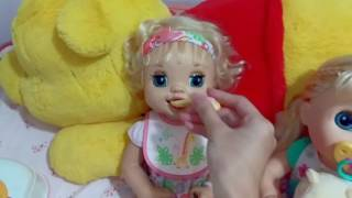 Feeding 2007 Baby Alive Learns To Potty Doll Eunice�Doll Food