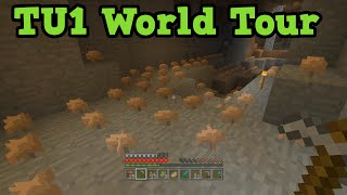 Minecraft TU1 Tutorial Play OLD Biomes, Crafting, Glitches