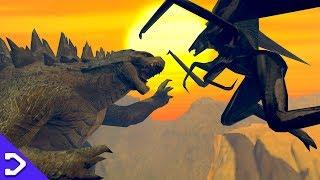 Walking With Godzilla (GOJIRA VS MUTO 3D ANIMATION)