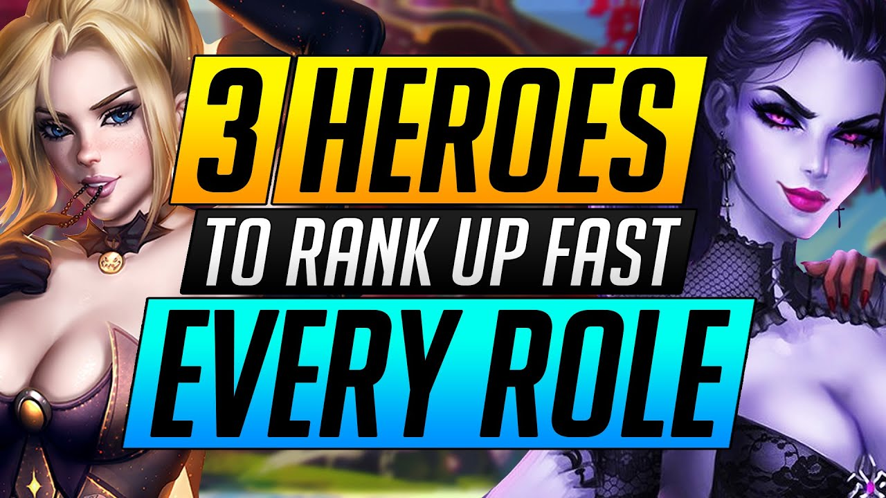 Download 3 BEST HEROES to MAIN in EVERY ROLE - Do THIS and RANK UP FAST - Overwatch Tips Guide