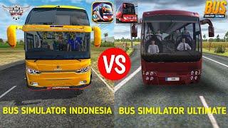 Bus Simulator Indonesia vs Bus Simulator Ultimate Full Comparison screenshot 4