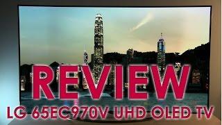 LG 65EC970V UHD OLED TV review