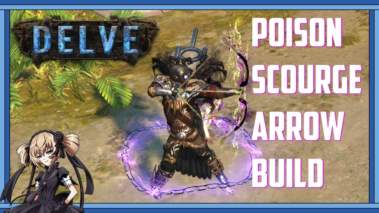 Path of Exile Delve: Poison Scourge Arrow Build Mapping Showcase