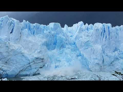 Perito Moreno Glacier: massive rupture