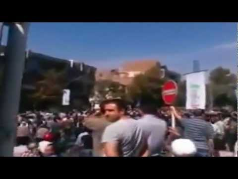 Iran 3 Oct. 2012 - Currency plunge triggers anti-regime protests in Tehran