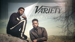 'Black Panther' Behind the Scenes with Chadwick Boseman & Ryan Coogler at Variety's Cover Shoot