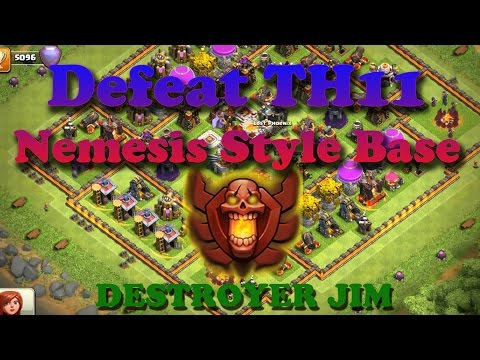 How to Defeat a Town Hall 11 Nemesis Base Clash of Clans