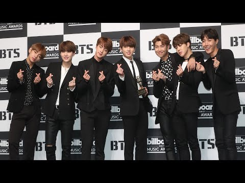 [풀영상] BTS, 'Billboard Awards' press conference (방탄소년단, 불타오르네, FIRE, Top Social Artist)