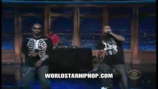 Three 6 Mafia Performing Lolli Lolli Pop That Body On Late Night