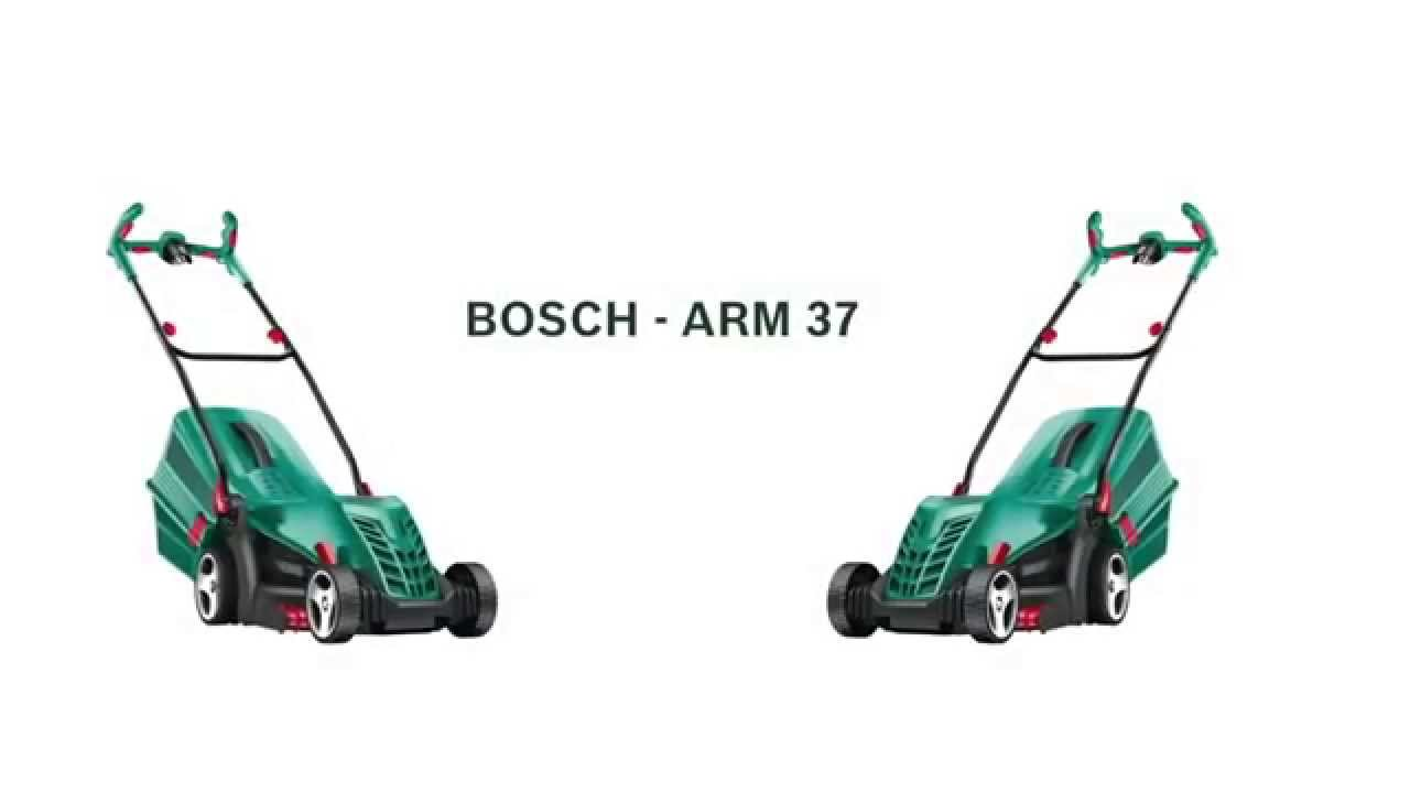 bosch arm 37 lawn mower unboxing and demo video max machine tools chennai youtube. Black Bedroom Furniture Sets. Home Design Ideas