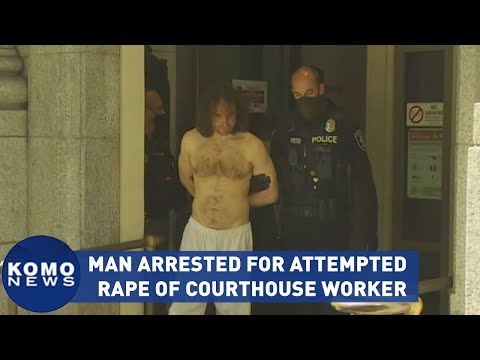 Man held for attempted rape of King County female courthouse worker