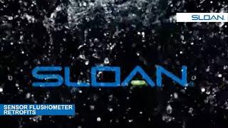 Sloan ECOS® Retrofit Installation