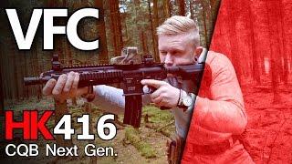 VFC UMAREX HK416 CQB Next Gen. Review Deutsch GsP Airsoft