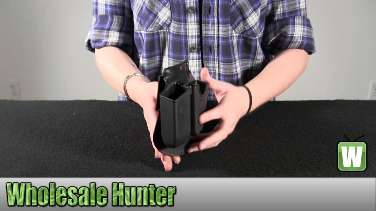 Double Magazine And Handcuff Holder Fobus MagazineCuff Combo Paddle Holster GlockHKSWMP CU41G 10