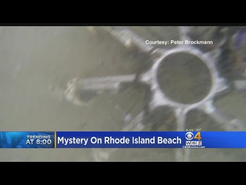 Mystery On Rhode Island Beach