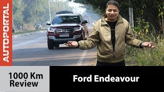 Ford Endeavour 1000 Km Review - Autoportal