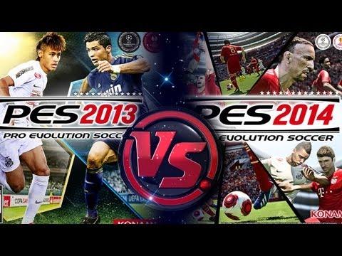 [TTB] PES 2014 Vs PES 2013 - Full Gameplay Comparison! - Latest Build