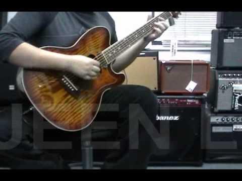Guitarra Electroacustica Ibanez Tcm50 Queen Instrumentos