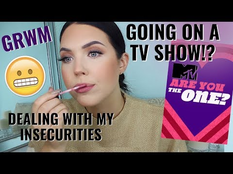 DEALING WITH MY BIGGEST INSECURITY & GOING ON A TV SHOW!? Chit Chat Get Ready with Me | Faith Drew