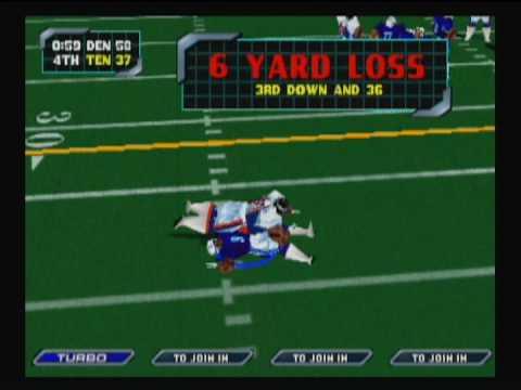 NFL Blitz 2000 - Broncos vs Titans (Part II)