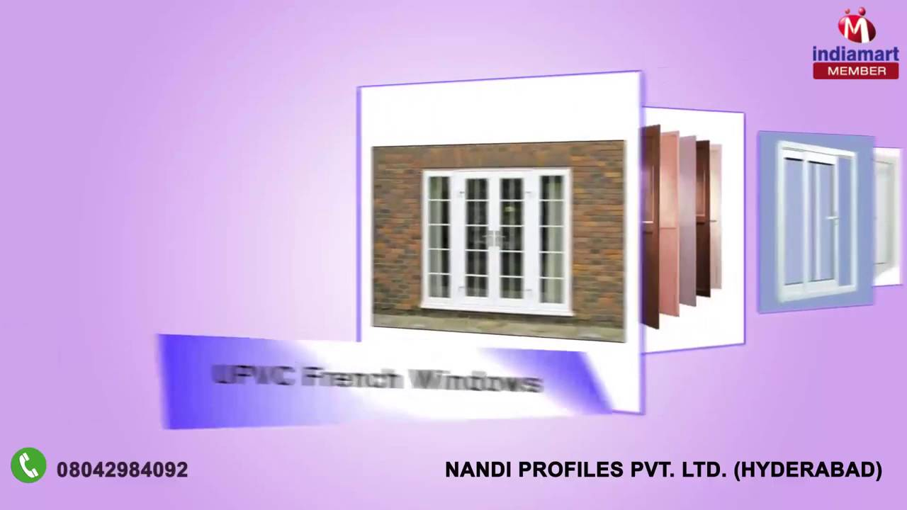 Pvc kitchen cabinet in hyderabad telangana india indiamart - Upvc Doors And Windows By Nandi Profiles Pvt Ltd Hyderabad Indiamart
