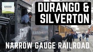Ep. 99: Durango & Silverton Narrow Gauge Railroad | Colorado travel RV camping