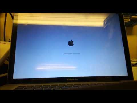 Macbook Pro A1286 Late 2010 Blue Screen with Black Vertical Lines on Boot up